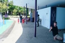 Fasilitas mandi di Water Play at Children's Garden